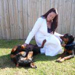 pet travel agent monique with dogs
